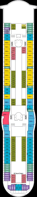 Navigator of the Seas: Deck 10
