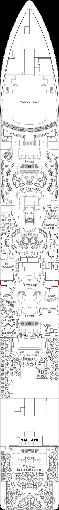 MSC Divina: Zeus Deck
