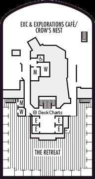 Nieuw Statendam: Observation Deck