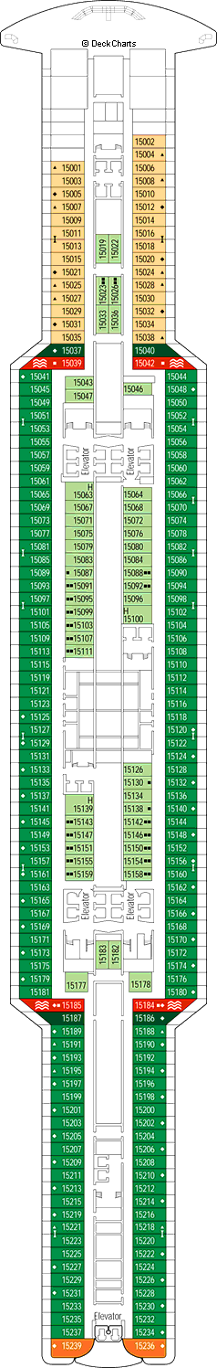 MSC Seaview Deck Plans, Ship Layout & Staterooms - Cruise ...