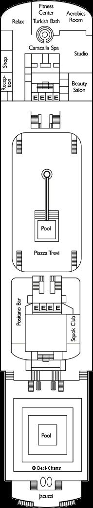 Costa neoClassica: Capri Deck