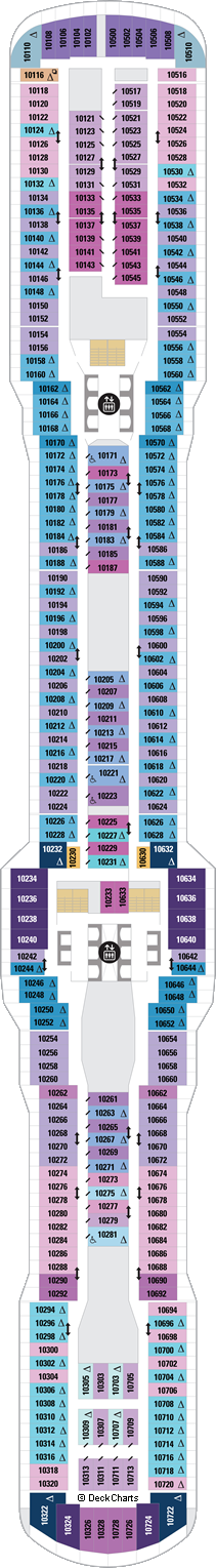 Spectrum of the Seas: Deck 10