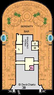 Carnival Vista: Serenity Deck