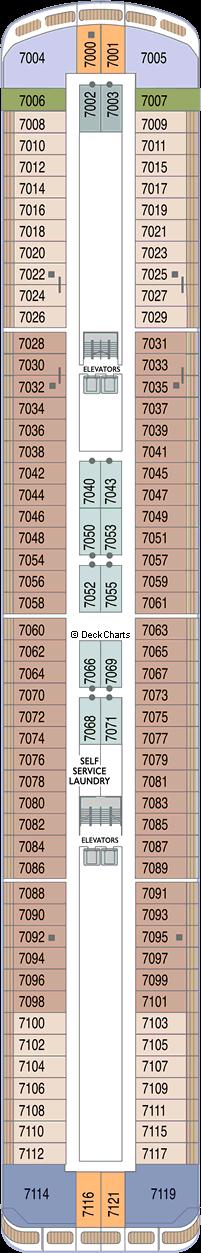 Azamara Quest: Deck 7
