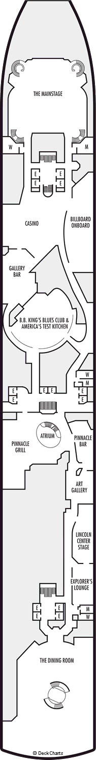 Oosterdam: Lower Promenade Deck