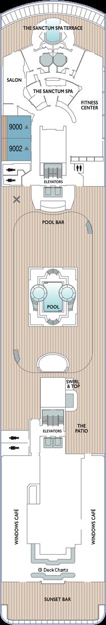 Azamara Quest: Deck 9