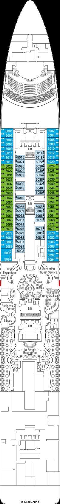 MSC Splendida Cabins & Staterooms on Cruise Critic
