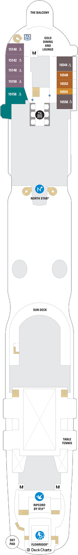 Spectrum of the Seas: Deck 16