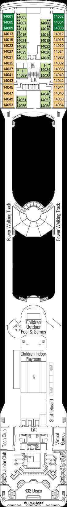 MSC Orchestra: Chitarra Deck