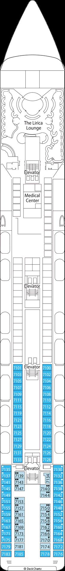 MSC Lirica: Scarlatti Deck