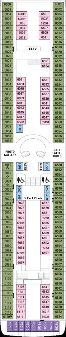 Splendour of the Seas: Deck 6