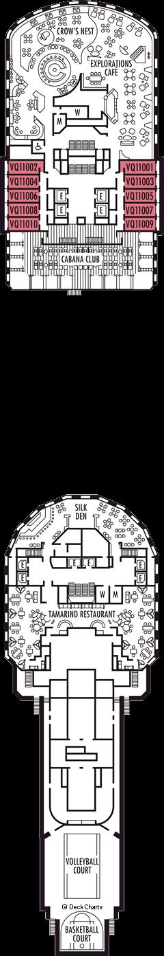Nieuw Amsterdam: Observation Deck