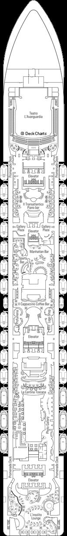MSC Fantasia: Sublime Deck