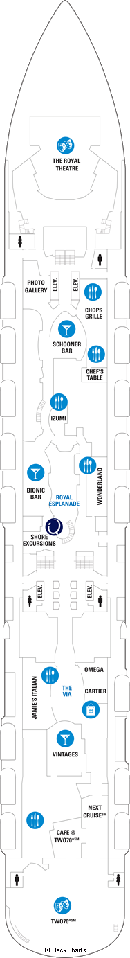 Ovation of the Seas: Deck 5