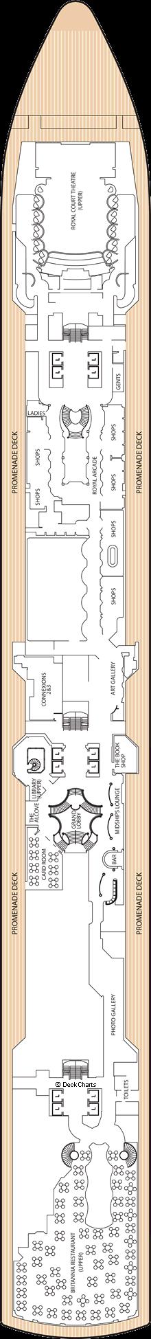 Queen Victoria: Deck 3