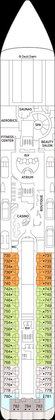 Seven Seas Mariner: Deck 7