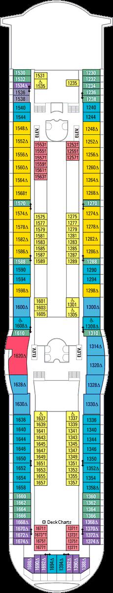 Mariner of the Seas: Deck 10