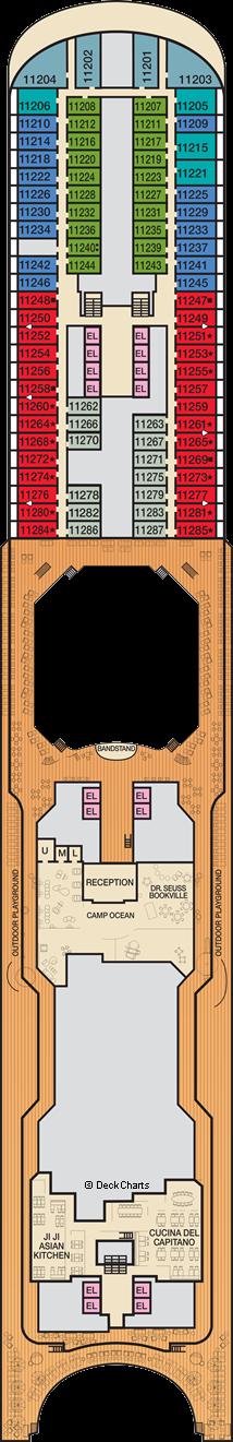 Carnival Panorama : Deck 11