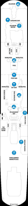 Ovation of the Seas: Deck 14