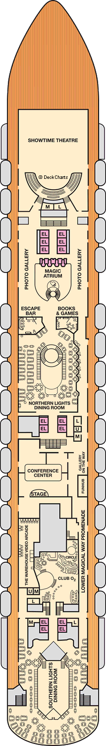 Carnival Magic Deck Plans: Ship Layout, Staterooms & Map ... on carnival legend deck map, pride of america deck map, carnival sunshine deck map, island princess deck map, carnival pride deck plan, norwegian sky deck map, carnival liberty deck map, carnival vista deck map, ruby princess deck map, disney dream deck map, carnival miracle deck map, disney magic deck map, carnival cruise room map, carnival inspiration deck map, carnival miracle deck plan, carnival victory deck map, carnival ecstasy deck map, oosterdam deck map,