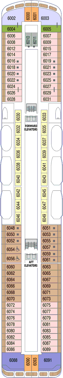 Azamara Quest: Deck 6