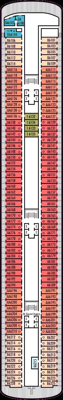 Volendam: Verandah Deck