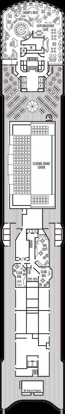 Westerdam: Observation Deck