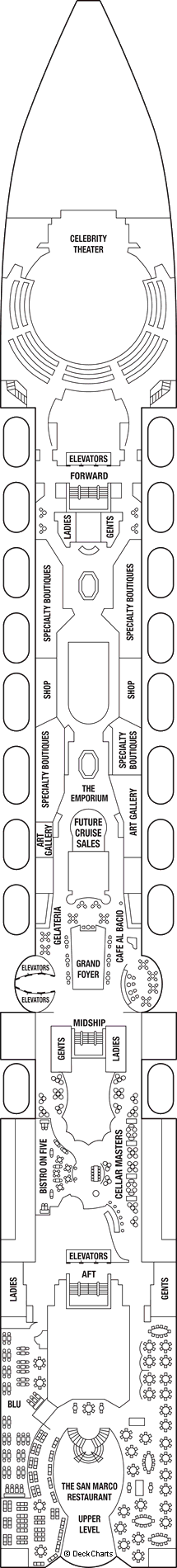 Celebrity Constellation: Deck 5