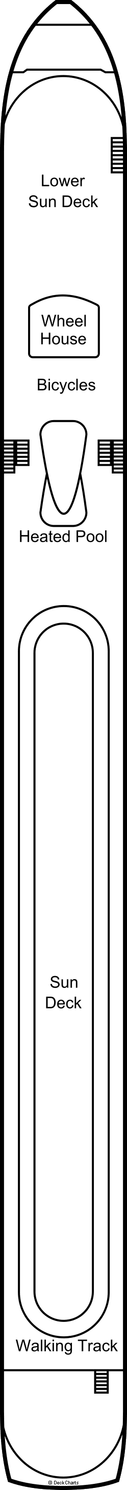 AmaLea : Sun Deck