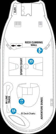 Adventure of the Seas: Deck 13