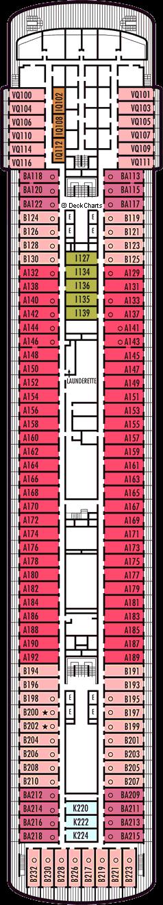 Veendam: Verandah Deck