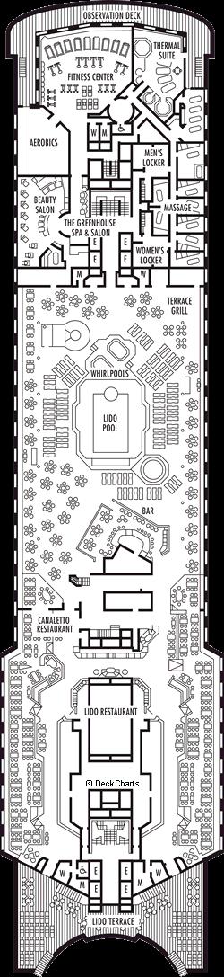 Statendam: Lido Deck