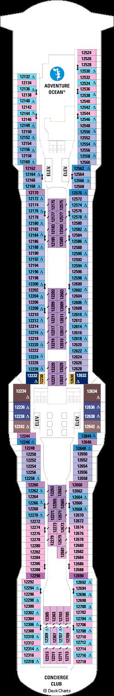 Quantum of the Seas: Deck 12