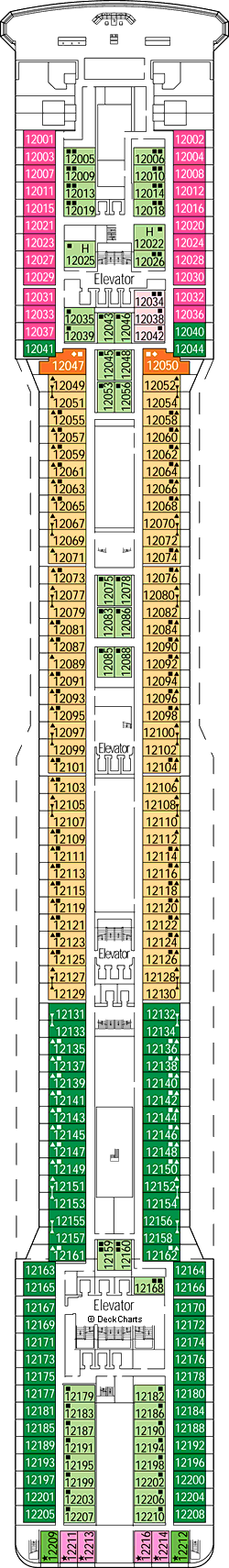 MSC Magnifica: Portovenere Deck