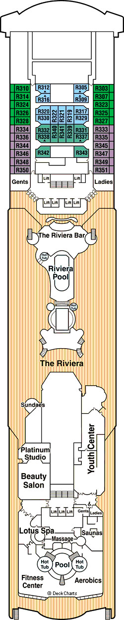 Sea Princess: Riviera Deck