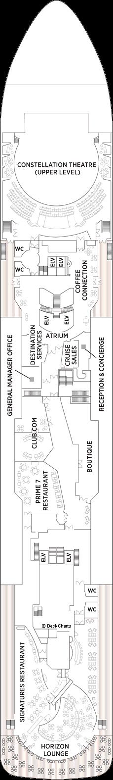 Seven Seas Voyager: Deck 5