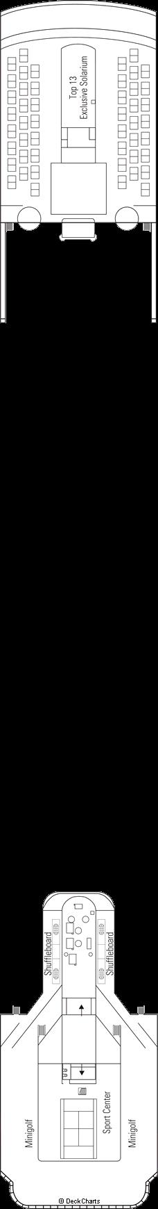 MSC Armonia: Games Deck / Sun Deck