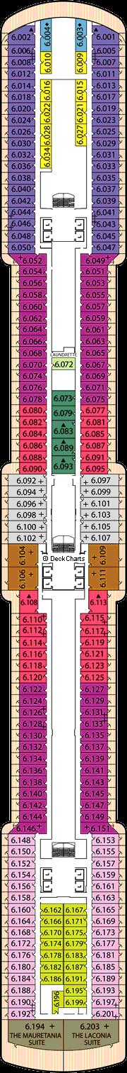 Queen Victoria: Deck 6