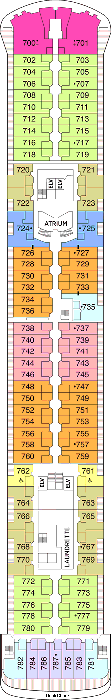 Seven Seas Voyager: Deck 7