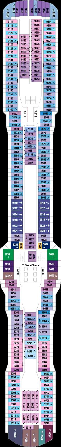 Quantum of the Seas: Deck 9