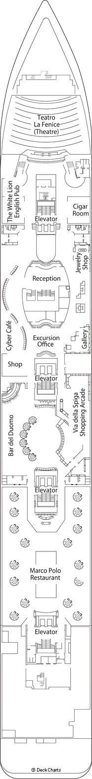MSC Armonia: Rubino Deck