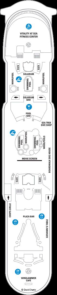 Mariner of the Seas: Deck 11