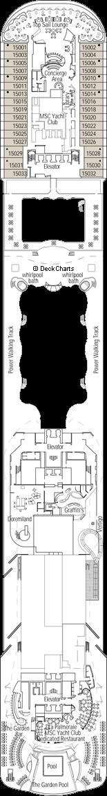 MSC Preziosa: Cristallo Deck
