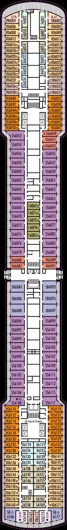 Zuiderdam: Upper Verandah Deck