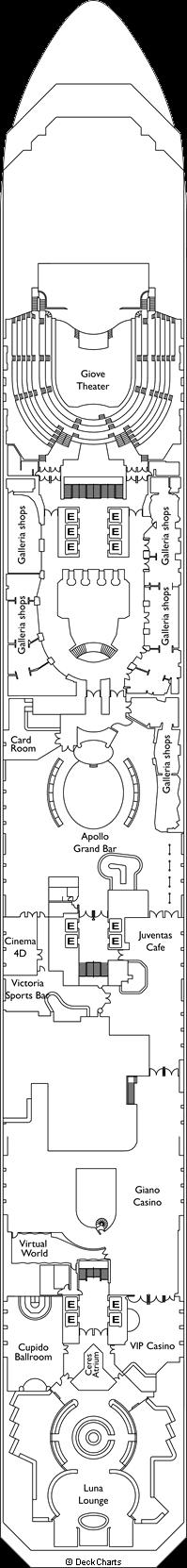 Costa Serena: Gemini Deck