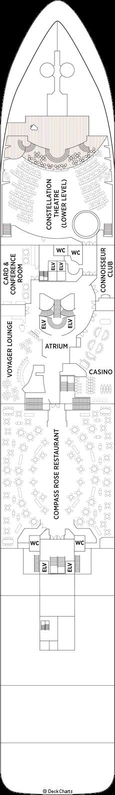 Seven Seas Voyager: Deck 4