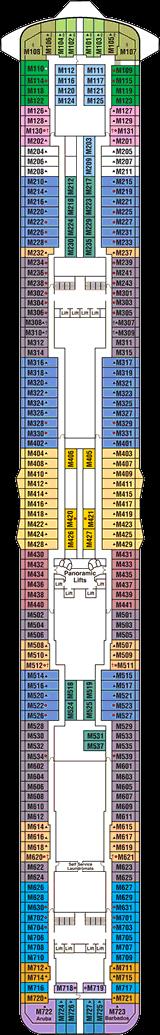 Regal Princess Deck 15 Marina Deck Cruise Critic