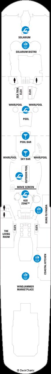 Quantum of the Seas: Deck 14