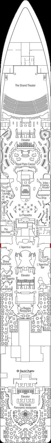 MSC Splendida: Modigliani Deck