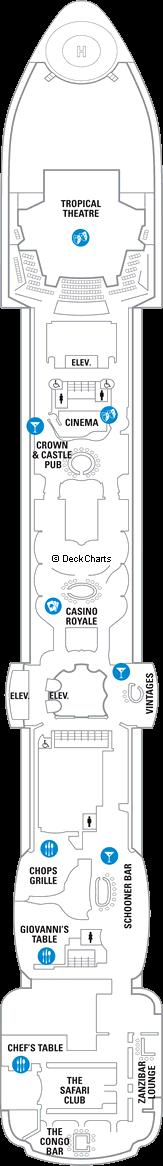 Serenade of the Seas: Deck 6